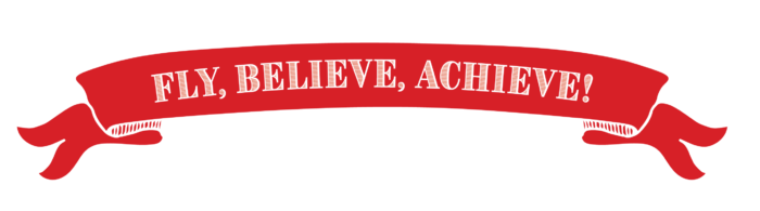 Fly Believe Achieve Banner
